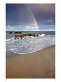 Lido di Orri Beach at Tortoli, Province of Ogliastra, Sardinia, Italy Art