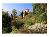 Villa Hanbury at Hanbury Botanic Gardens near Ventimiglia, Province of Imperia, Liguria, Italy Print