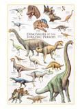 Dinosaurs, Jurassic Period Print