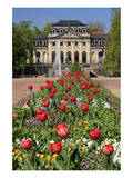 Orangery in the palace garden of Fulda, Hesse, Germany Poster