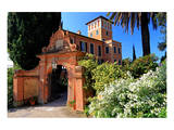 Villa Hanbury at Hanbury Botanic Gardens near Ventimiglia, Province of Imperia, Liguria, Italy Poster