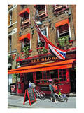 The Globe Pub, Bow Street, Covent Garden, London, South of England, United Kingdom of Great Britain Konst