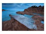 Plage de Ruppione beach near Propriano, Gulf of Valinco, Corse-du-Sud, Corsica, France Prints