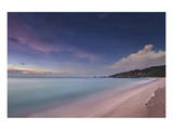 Grand Anse beach, La Digue Island, Seychelles Print