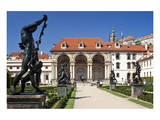 Loggia Sala Terrana at Wallenstein Garden of Wallenstein Palace at Prague Prints