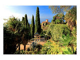 Villa Hanbury at Hanbury Botanic Gardens near Ventimiglia, Province of Imperia, Liguria, Italy Prints