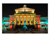 Festival of Lights, Berlin Theatre at Gendarmenmarkt, Berlin, Germany Prints
