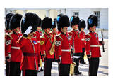 Royal Guards, London, South of England, United Kingdom of Great Britain Posters