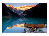 Canoe on Lake Louise Art