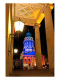 Festival of Lights, Entrance of the Berlin Theatre and French Cathedral at Gendarmenmarkt, Berlin Prints