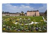 Schwetzingen Palace with Baroque Gardens, Schwetzingen, Baden-Wuerttemberg, Germany Poster