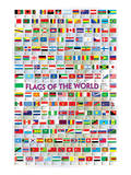 Flags of the World, c.2008 Posters