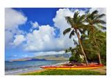Kihei Beach, Island of Maui, Hawaii, USA Print