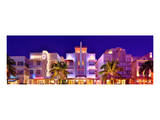 Hotels on Ocean Drive in the Art Deco District of South Miami Beach in Miami, Florida, USA Posters