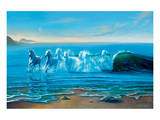 Wild Water Print by Jim Warren