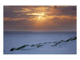 Cloudy atmosphere at the sea, Amrum, Schleswig-Holstein, Germany Prints