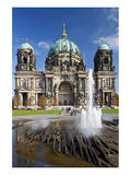 Berlin Cathedral, Berliner Dom, at Lustgarten, Berlin, Germany Posters
