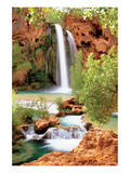 Hidden Falls Posters