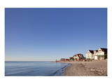 Beach of the Baltic Seaside Resort of Laboe, Schleswig-Holstein, Germany Prints