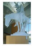 Statue in the National Cowboy Hall of Fame, Oklahoma City, Oklahoma, USA Art