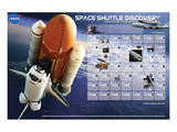 Shuttle Discovery Missions Posters
