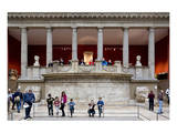 Hall of the Trajaneum at the Pergamon Museum, Museum Island, Berlin, Germany Art