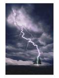 Lightning Striking Tree II Prints