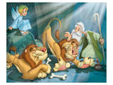 Daniel and the Lions Prints