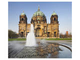 Berlin Cathedral with Lustgarten, Berlin, Germany Posters
