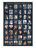 Famous Women Writers Prints