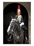 Royal Mounted Guard, London, South of England, United Kingdom of Great Britain Print