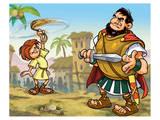 David and Goliath Prints