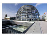 Dome of the Reichstag Building, Berlin, Germany Posters