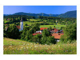 Bad Bayersoien, Upper Bavaria, Germany Prints