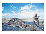 Inukshuk Landscape 2 Posters