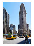 Flatiron Building on Fifth Avenue, Manhattan, New York City, New York, USA Print
