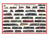 Steam Locomotives Art