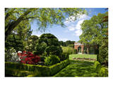 Walled Garden in Filoli Center in Woodside near San Francisco, California, USA Art