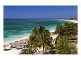 Playa Ancon Beach near Trinidad, Cuba Print