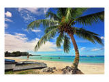 Beach near Oistins, Christ Church, Barbados, Caribbean Print