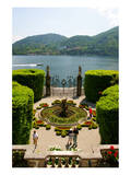 Fountain in the park of Villa Carlotta, Tremezzo, Lake Como, Lombardy, Italy Prints