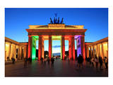Festival of Lights, Brandenburg Gate at Pariser Platz, Berlin, Germany Art