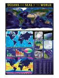 Oceans & Seas Poster