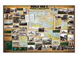 World War II - European and North African Theaters of Operations Posters