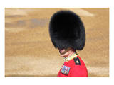 Officer at The Queen's Annual Birthday Parade Trooping the Colour Print