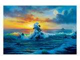 At Sunset Print by Jim Warren