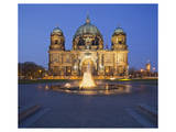 Berlin Cathedral with Lustgarten, Berlin, Germany Print