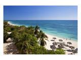 Playa Ancon Beach near Trinidad, Cuba Affiches