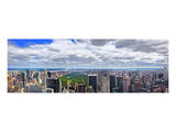 View over Central Park, Manhattan, New York City, New York, USA Posters