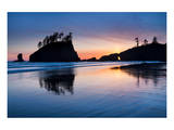 Second Beach at Olympic National Park, Washington, USA Prints